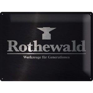Metal Sign Rothewald
