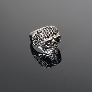 FINGER-RING WOMAN *SKULL*