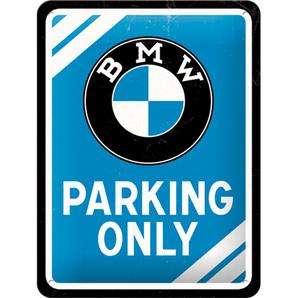 Blechschild BMW Parking.