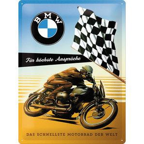 Blechschild Motor-
