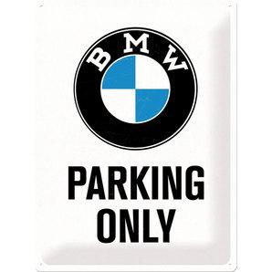 Blechschild BMW Parking
