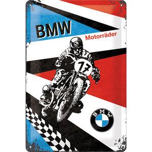 Blechschild BMW Motorräd