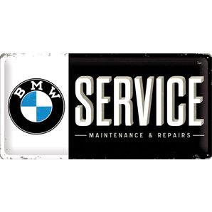 Blechschild BMW Service