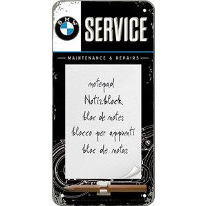 Notizblock-Schild BMW