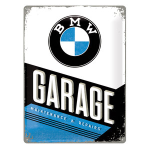 BMW GARAGE METAL SIGN