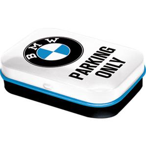 Pillendose BMW Parking