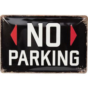 Blechschild No Parking
