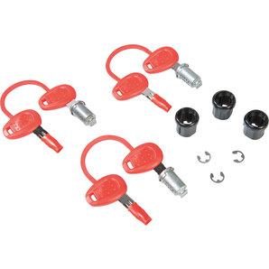 GIVI Ersatzschloss 3er-Set inkl- 2 Schlüssel Givi Motorrad