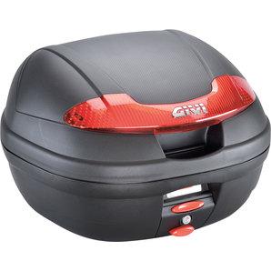Givi Top-Case E340 Vision Monolock 34L - inkl- Adaplerplatte Motorrad