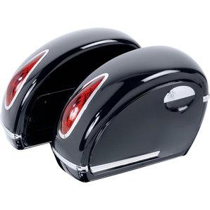Hartschalenkoffer Set Voyager Custom Acces Motorrad