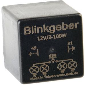 Blinkgeber- 3-polig Motorrad