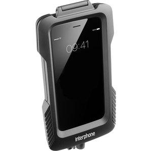 IPhone 6-6S Gehäuse für nicht rohrförmige Lenker Interphone Motorrad