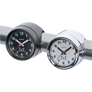 T&T POLISHED ANALOG CLOCK