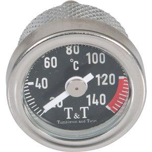 TundT Öltemperatur-Direktmesser für diverse Fahrzeuge Tumbleton and Twist Motorrad