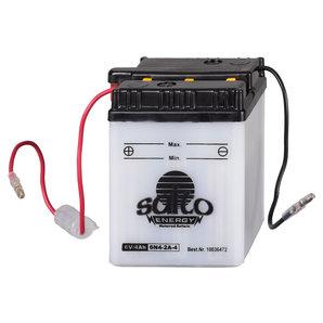 Batterie 6N4B-2A/-3 6V/4Ah