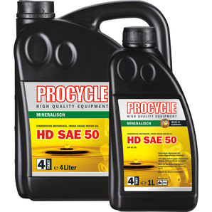 Buy Procycle 4t Engine Oil Mineral Hd Sae 50 4 Litre