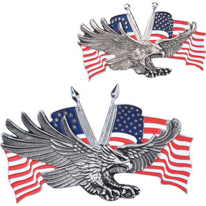 EAGLE WITH US-FLAG