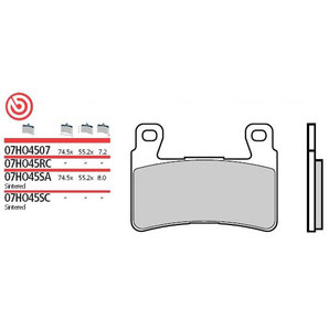 BREMBO BRAKE-PADS SINTER