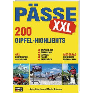 Reiseführer Pässe XXL Highlights Verlag Motorrad