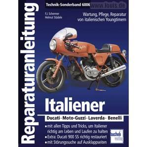 Bucheli Reparaturanleitung Italiener Technik-Sonderband 6006 Motorrad