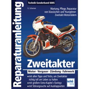 Bucheli Reparaturanleitung Zweitakter- Technik-Sonderband 6005 Motorrad