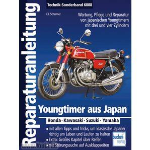 Reparaturanleitung Youngtimer aus Japan Sonderband 176 S- Bucheli Motorrad