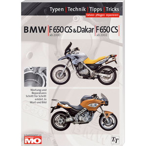 BMW Handbuch F 650 GS-CS Fahren- pflegen- reparieren Text und Technik Verlag Motorrad