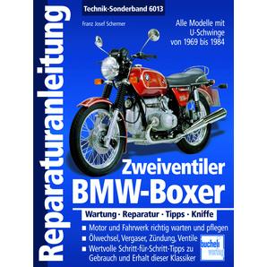 Reparaturanleitung BMW-Boxer Alle Modelle mit U-Schwinge Motobuch Verlag Motorrad