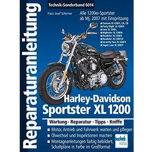 Bucheli H-D Sportster XL 1200 Reparaturanleitungen Motorrad