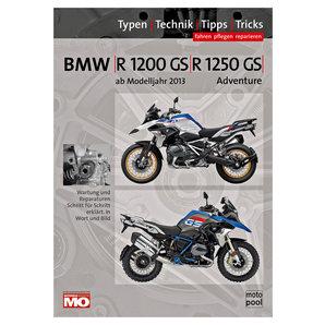 BMW Handbuch R 1200 GS - 1250 Fahren- pflegen- reparieren Text und Technik Verlag Motorrad