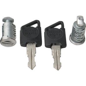 Hepco und Becker 2er Schloss-Set C-Bow mit 2 Schlüsseln Motorrad