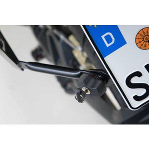 Diebstahlsicherung für PRO-Seitenträger Paar SW-Motech Motorrad