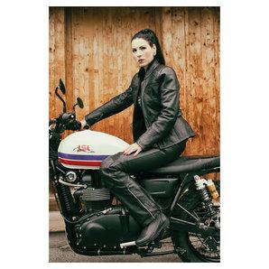 lederjacken damen biker lederjacke quot dream quot extrem geste. Black Bedroom Furniture Sets. Home Design Ideas