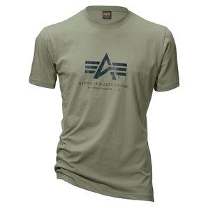Alpha Ind. T-Shirt Gr.m Basic T Oliv