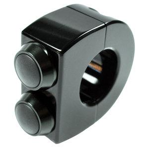 Armatur mo-switch 2 Taster für Zoll und 22 mm Lenker motogadget Motorrad