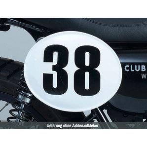 LOUIS NUMMERNTAFEL GFK UNLACKIERT WEISS Louis Motorrad