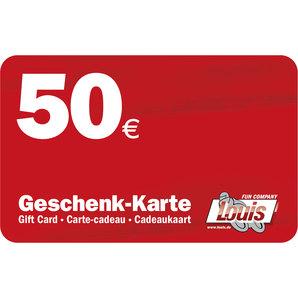 CARTE CADEAU DE 50 EUR