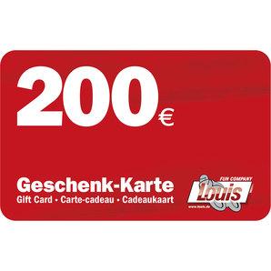CARTE CADEAU DE 200 EUR