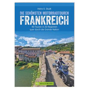 40 Motorradtouren in Frankreich- 288 Seiten Bruckmann Verlag Motorrad