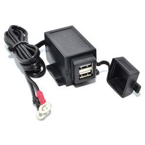 BAAS USB5 USB-Doppelsteckdose Motorrad