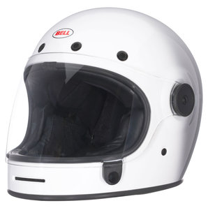 Bell Motorcycle Helmet >> Buy Bell Bullitt Solid White Louis Motorcycle Leisure