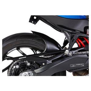 Bodystyle Hinterradabdeckung matt-schwarz- mit ABE Motorrad