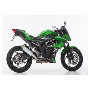 Hurric Tec One Endschalldämpfer schwarz eloxiert oder Titanlook Motorrad