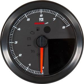 Koso HD-01-04 Drehzahlmesser-Tachometer für Harley Sportster und Dyna Motorrad
