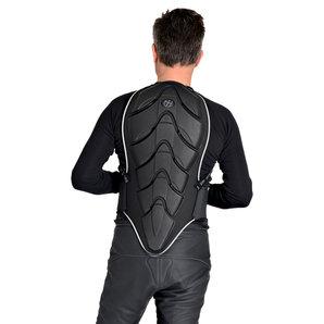 Super Shield 834 Rückenprotektor Level 2 Schwarz Motorrad