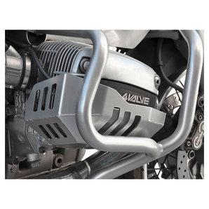 Zieger Zylinderschutz in silber für diverse Modelle- Aluminium Motorrad