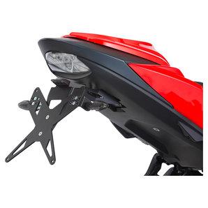 PROTECH Kennzeichenhalter X-SHAPE für diverse Modelle- schwarz Motorrad