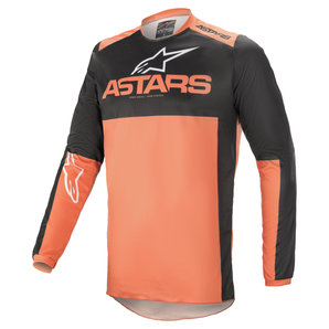 Alpinestars Fluid Tripel Jersey Schwarz Orange alpinestars Motorrad