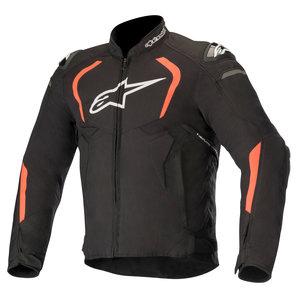 Alpinestars T-GP Pro V2 Textiljacke Schwarz Neon Rot alpinestars Motorrad