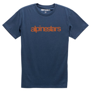 Alpinestars  Heritage Word Pre T-Shirt Blau Rot alpinestars Motorrad